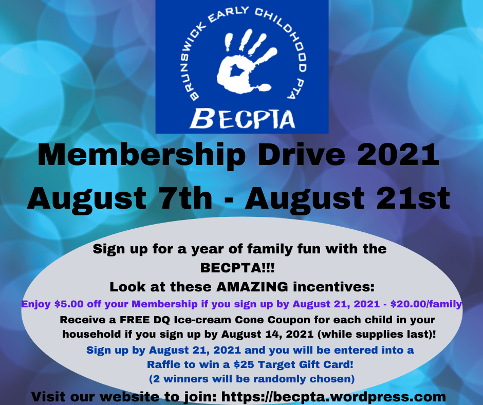 Membership Drive Flyer 2021-2022